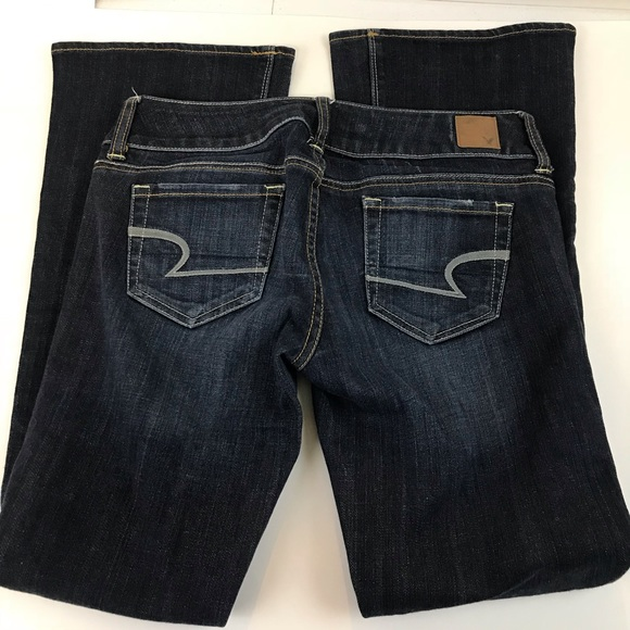 American Eagle Outfitters Denim - American Eagle Artist Bootcut 2 SHORT Blue Stretch